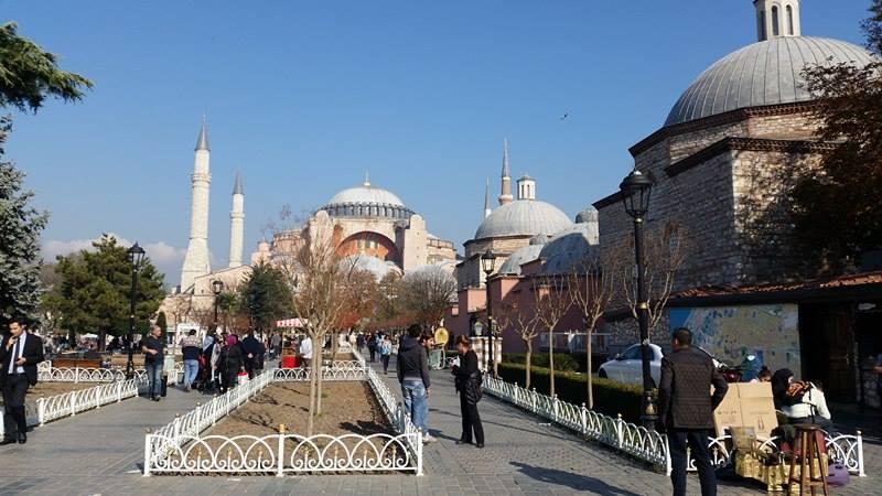 Aja Sofija, Istanbul, jedno od najpopularnijih mjesta u gradu.