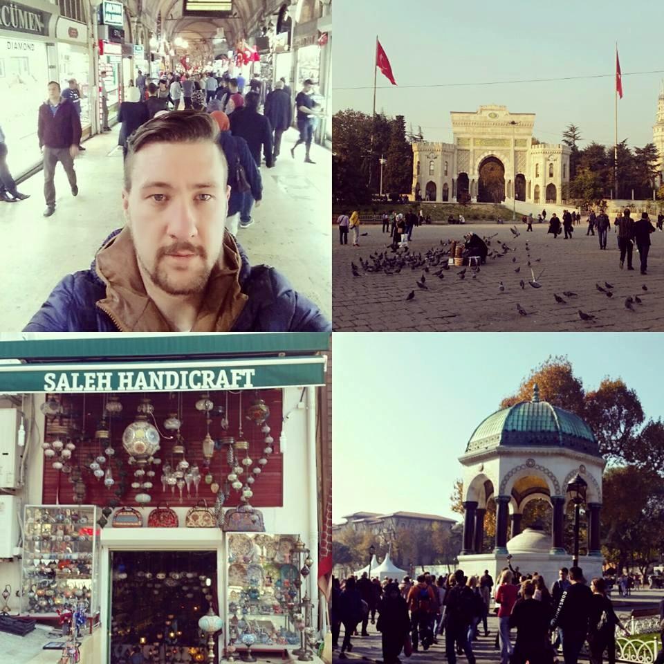 Kolaž od više slika iz najvećeg grada Turske