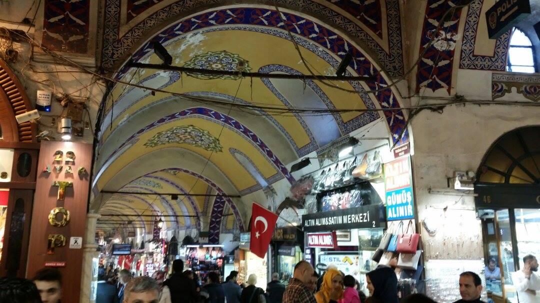 Grand Bazar u centru Istanbula