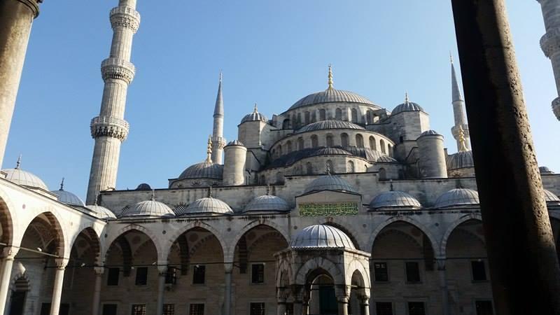 Čuvena plava džamija u Istanbulu