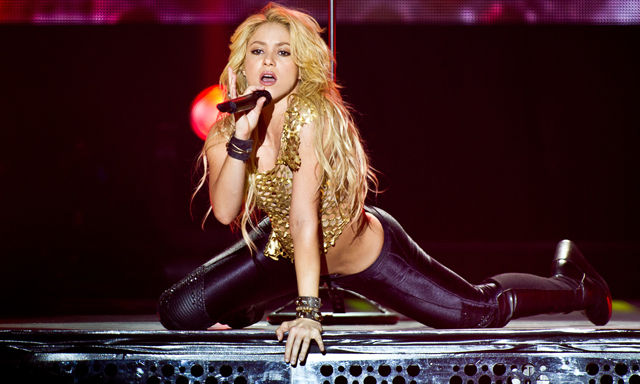 Shakira Performs At POPB