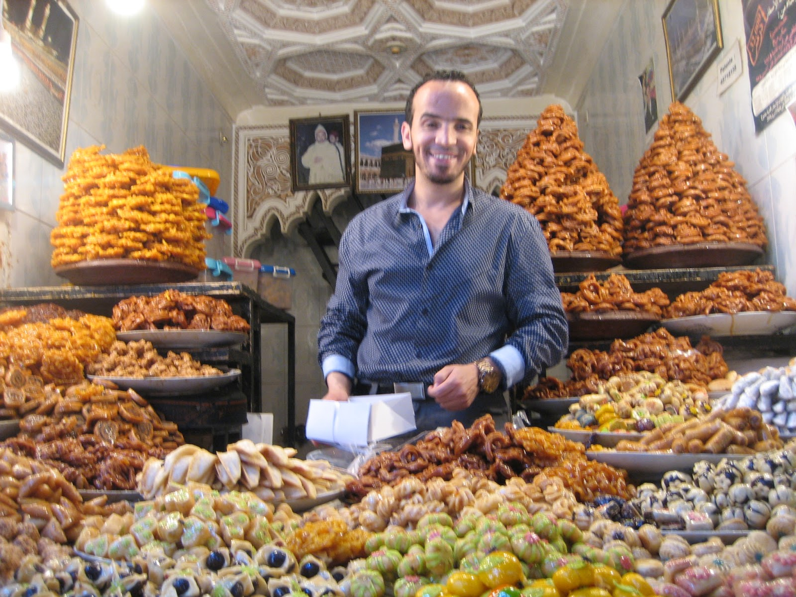 Moroccan sweet talker