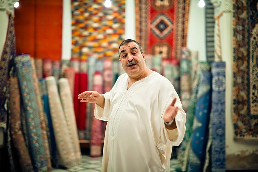 Trgovac na ulicama Maroka