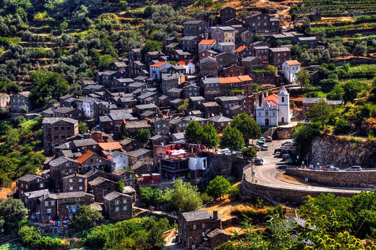 stari grad u Portugalu
