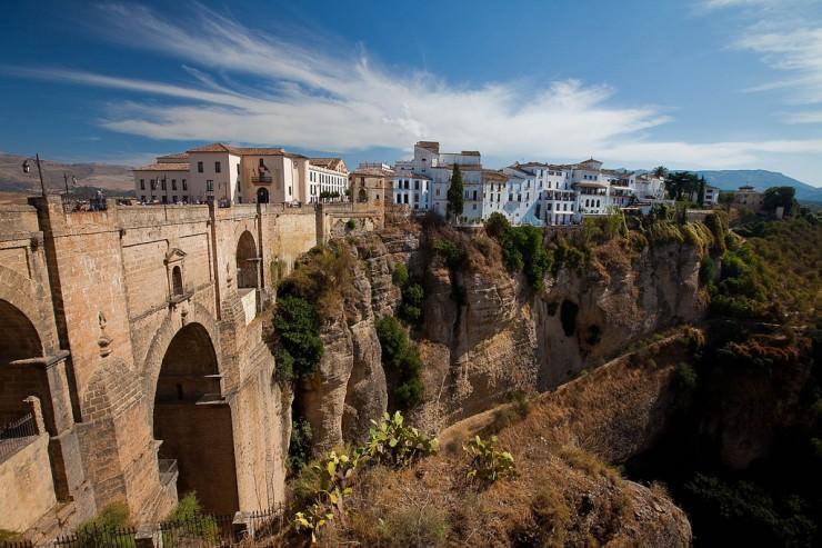 Grad Ronda u Španiji
