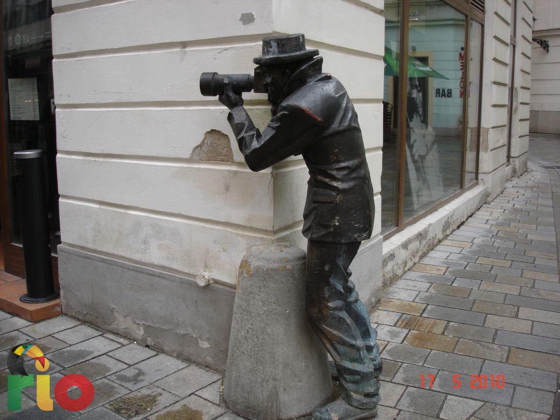 Figure na ulicama Bratislave, svakako privlače pažanju mnogih turista