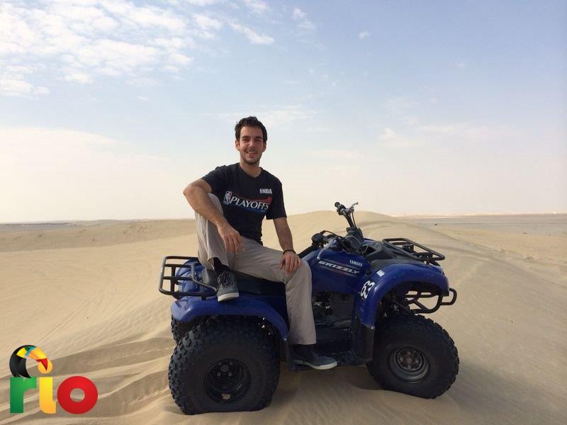 vožnja quadovima po pustinji je bila sjajno iskustvo