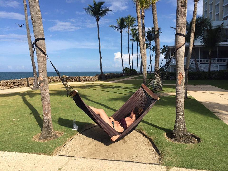 uživanje na plaži u Portoriku