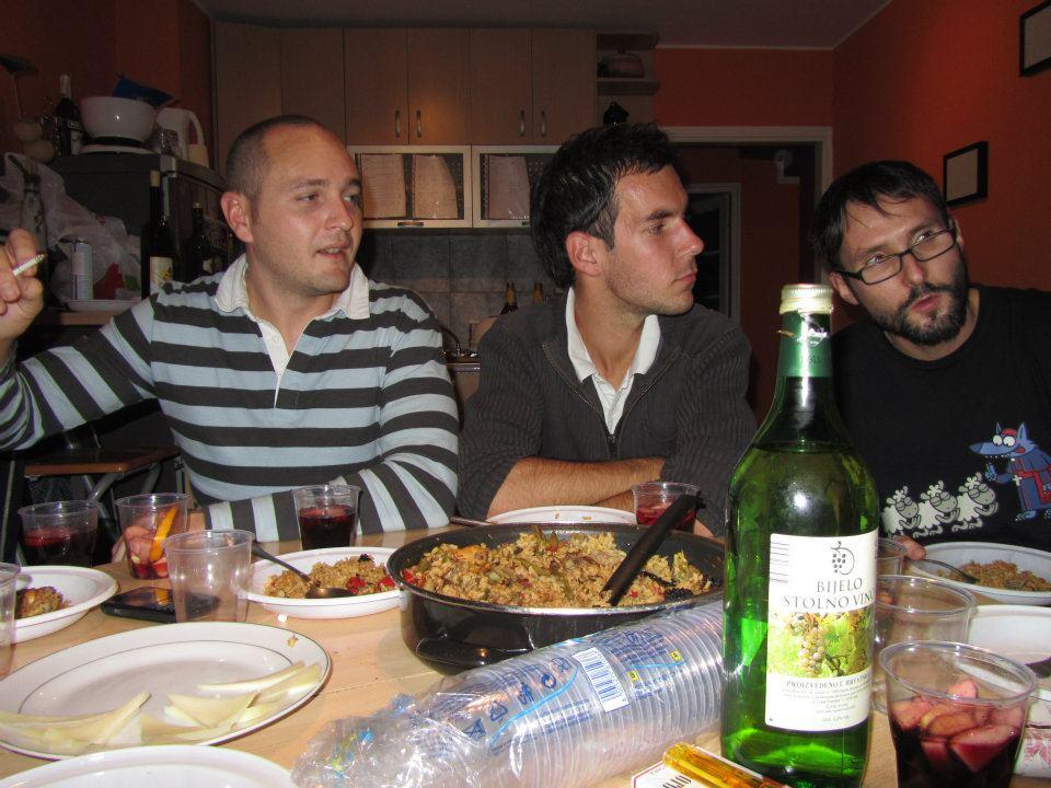 Pravljenje špankse večere
