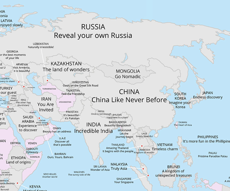 slogani u Aziji