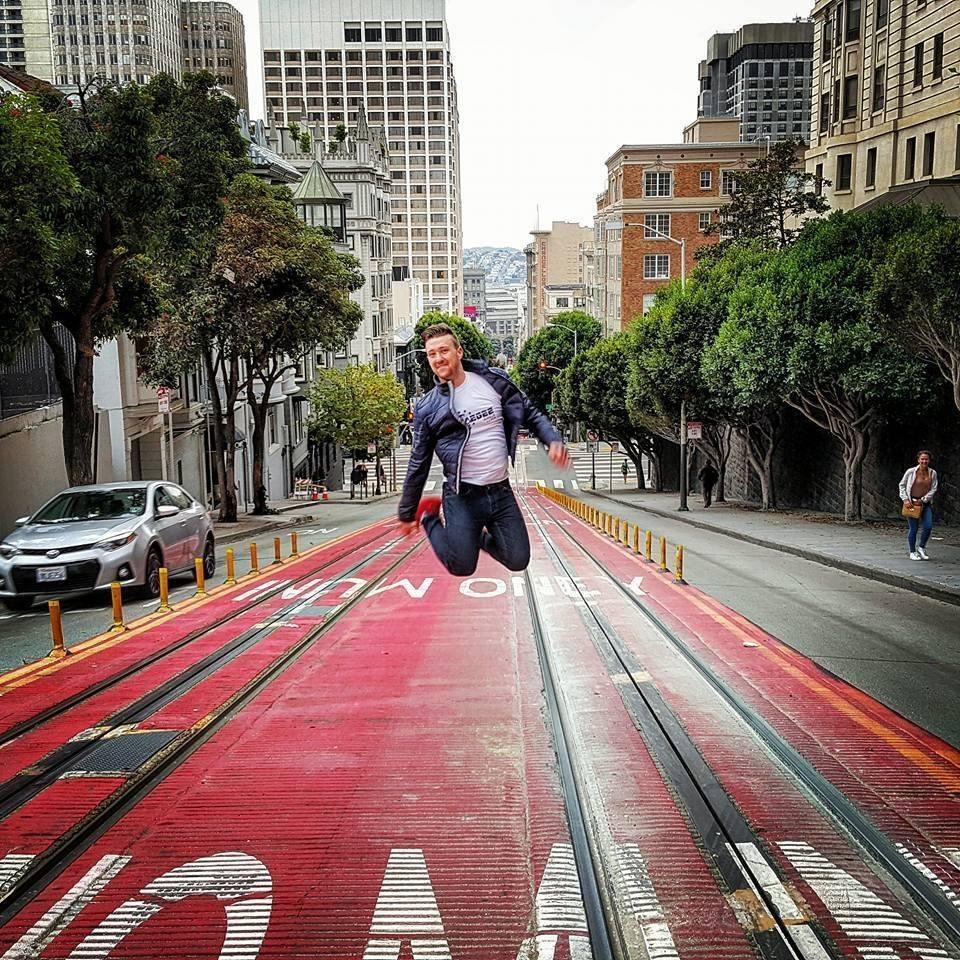 work and travel priča u San Francisku