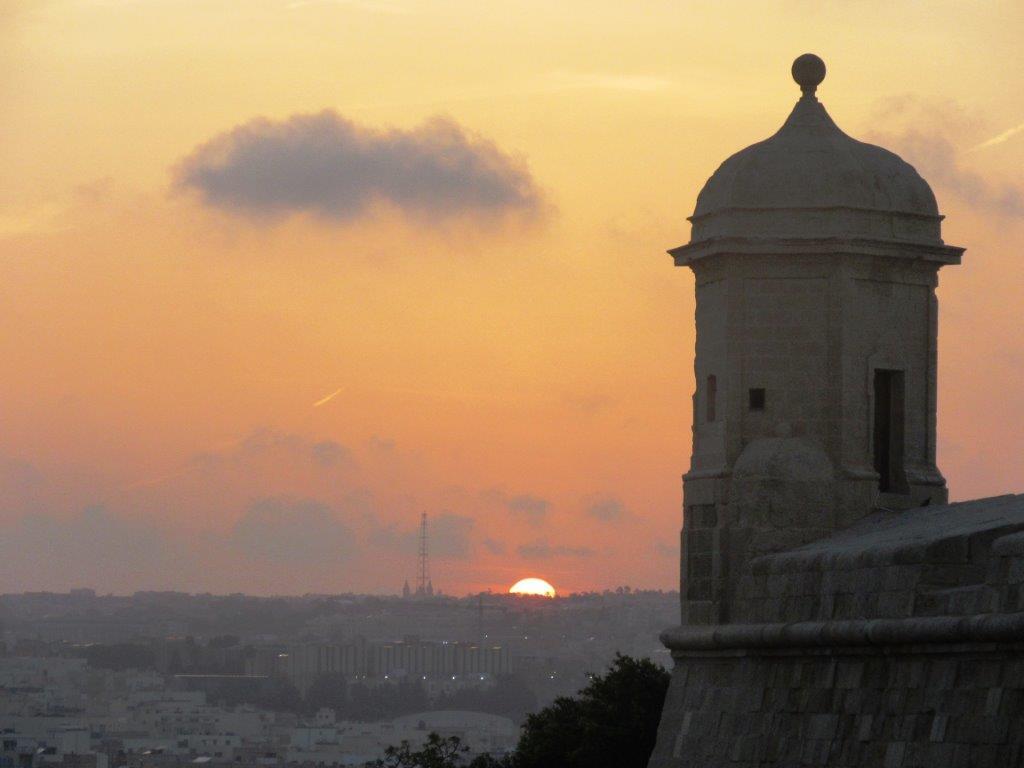 Zalazak sunca na Malti