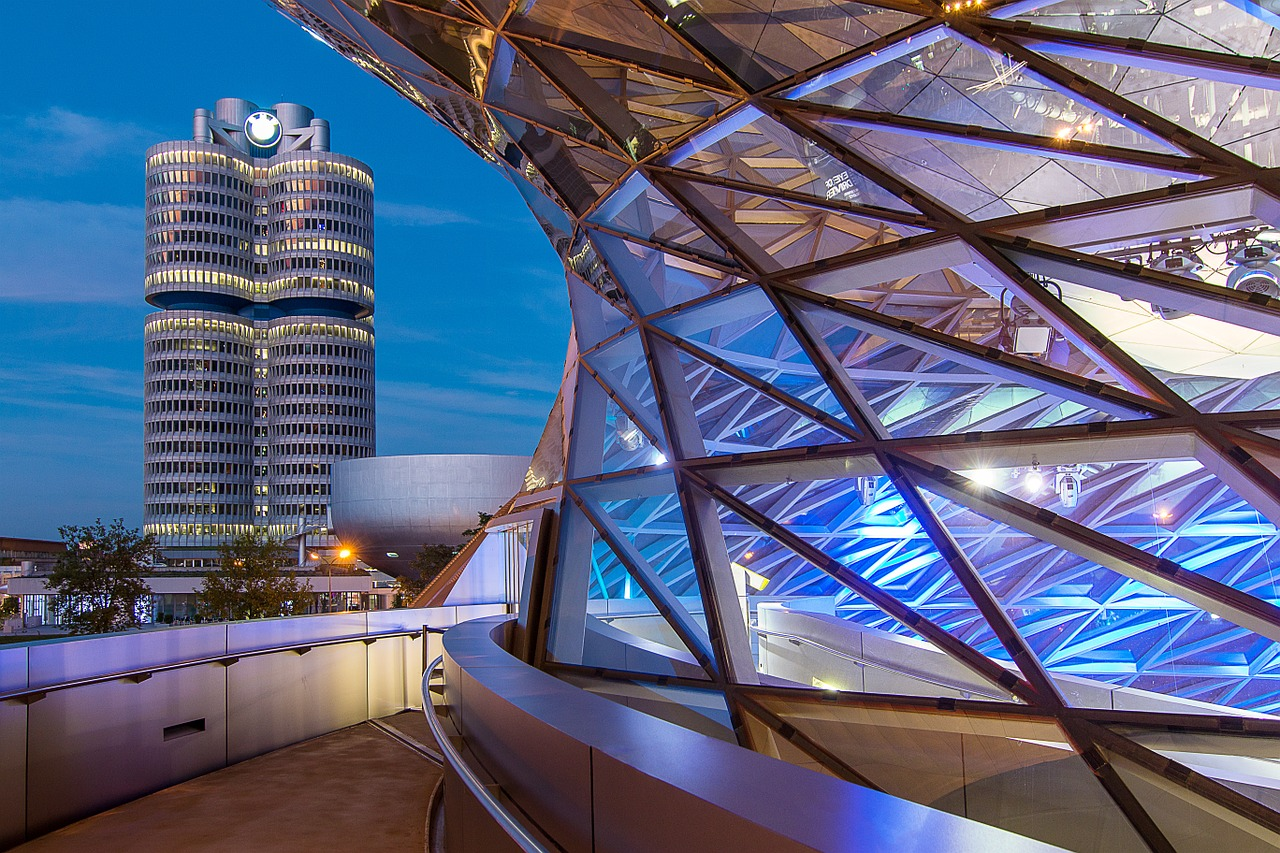sjedište BMW-a