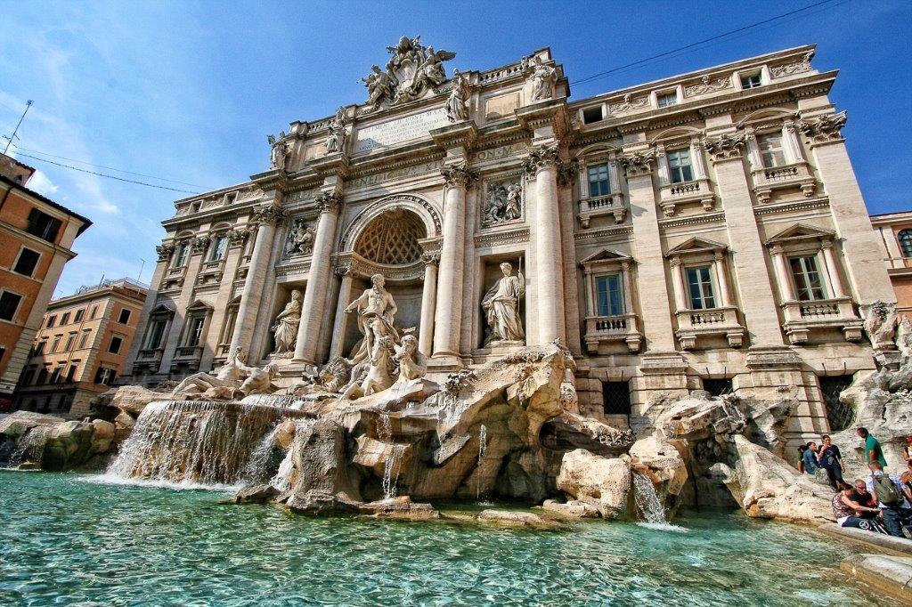 Fontana di Trevi u Rimu