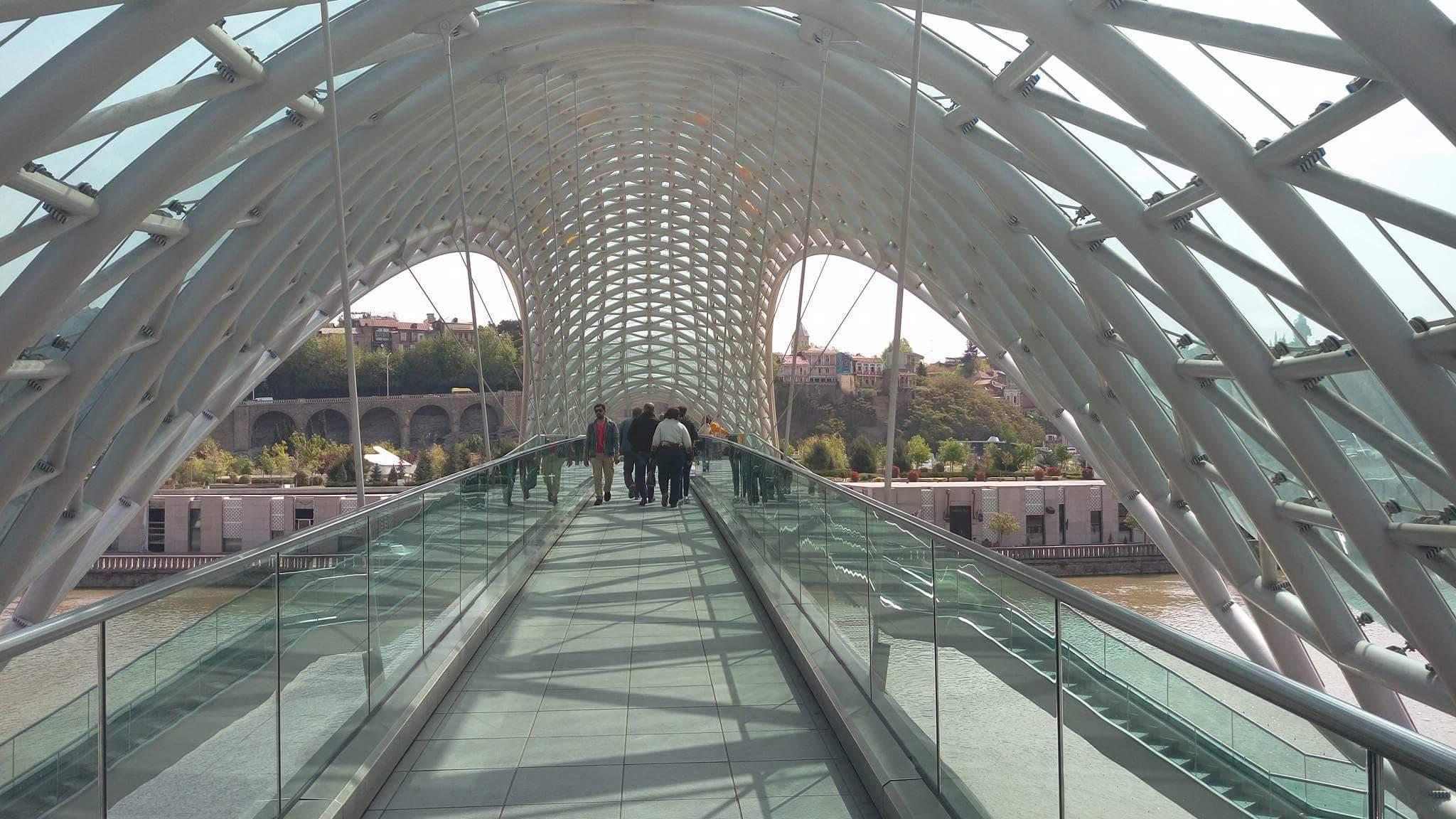 Most mira u Tbilisiju