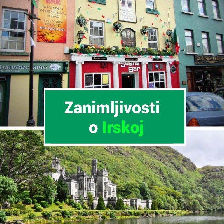 zanimljivosti o Irskoj