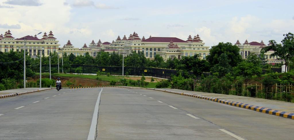 napušten grad Mjanmar
