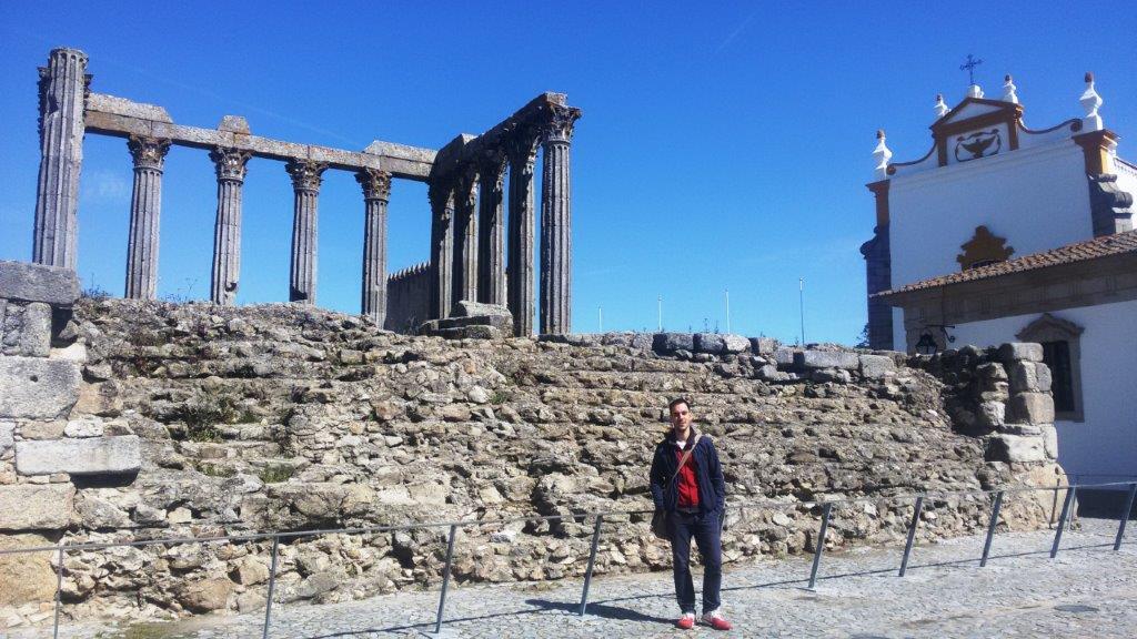Rimski hram Evora