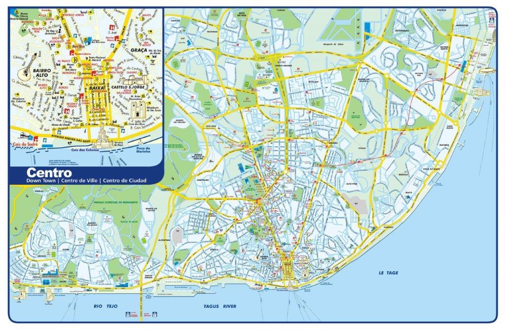 lisabon mapa