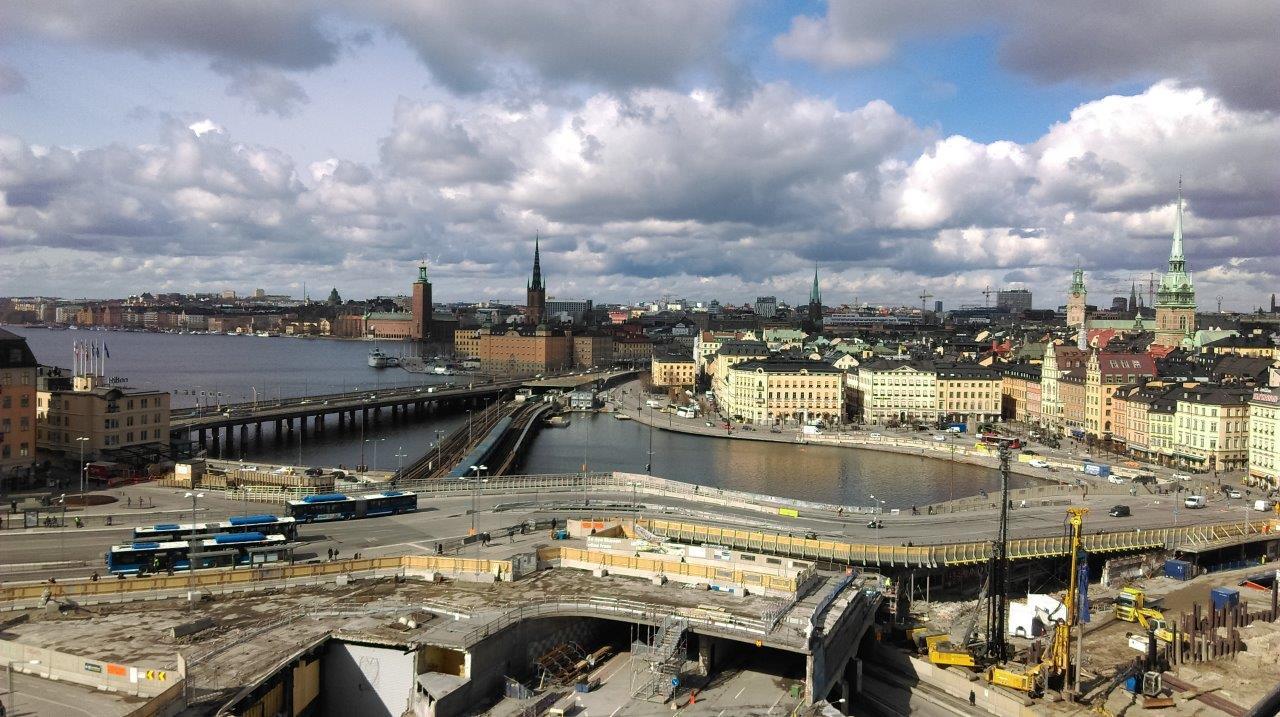pogled na Stockholm