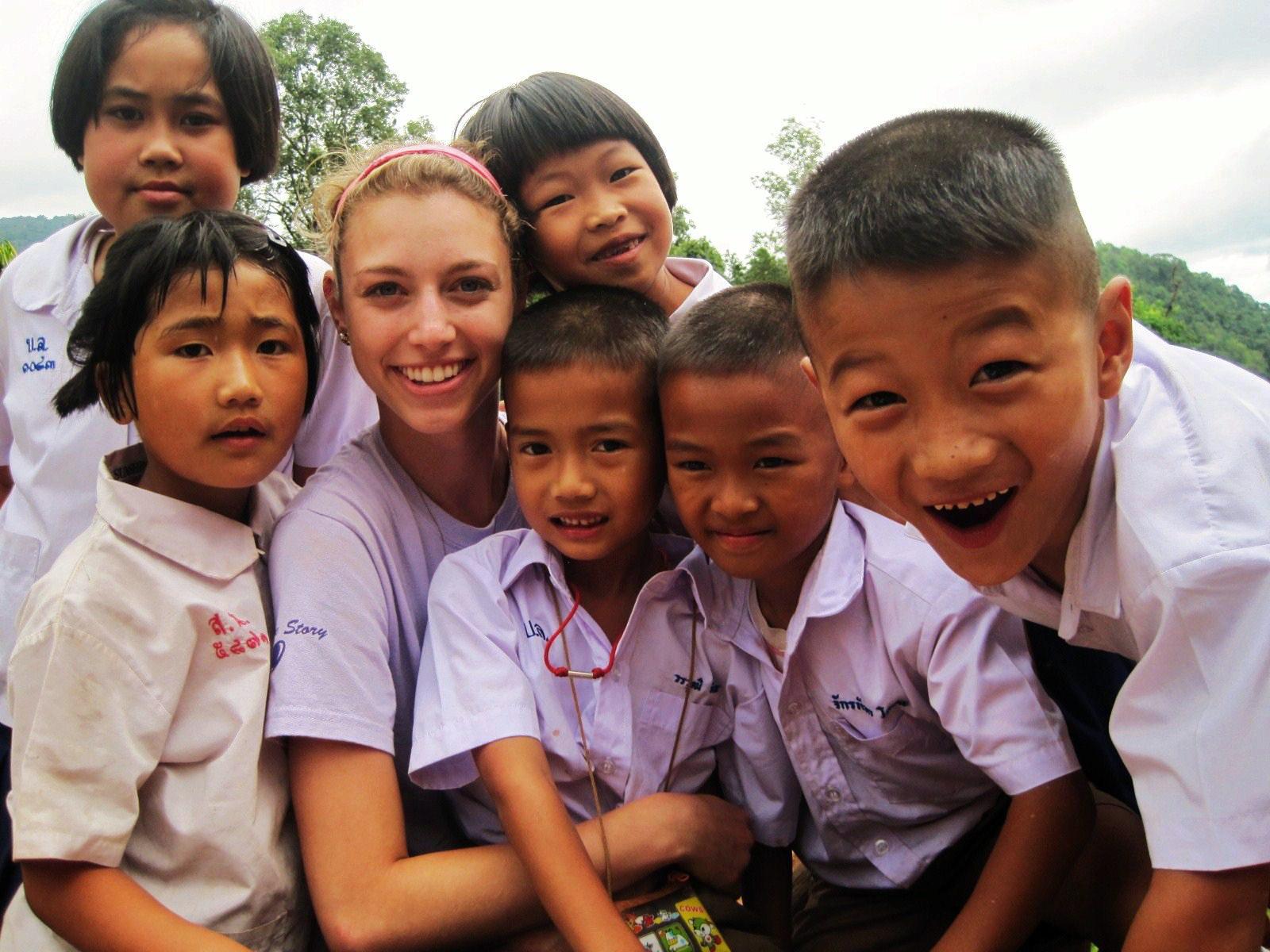 Volontiranje na Tajlandu