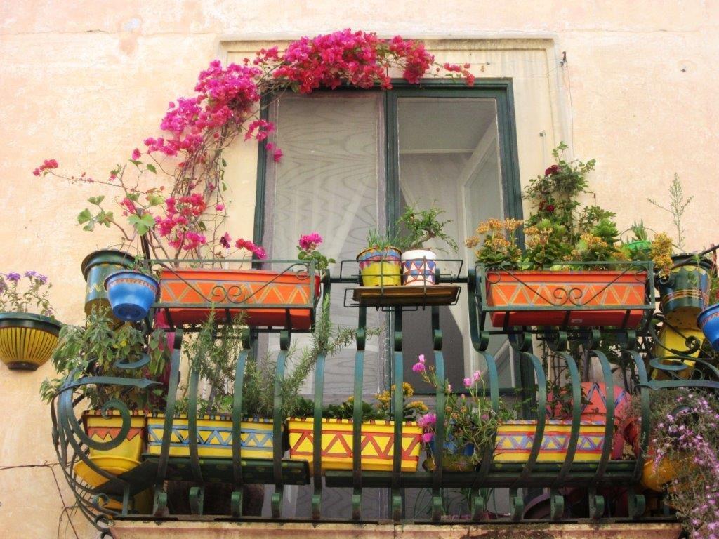Šareni balkon