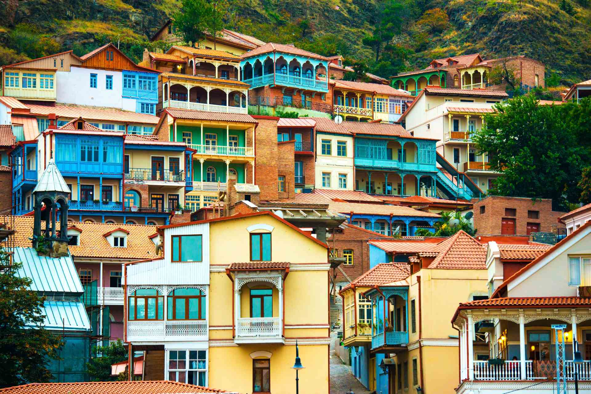 šarene kuće Tbilisi