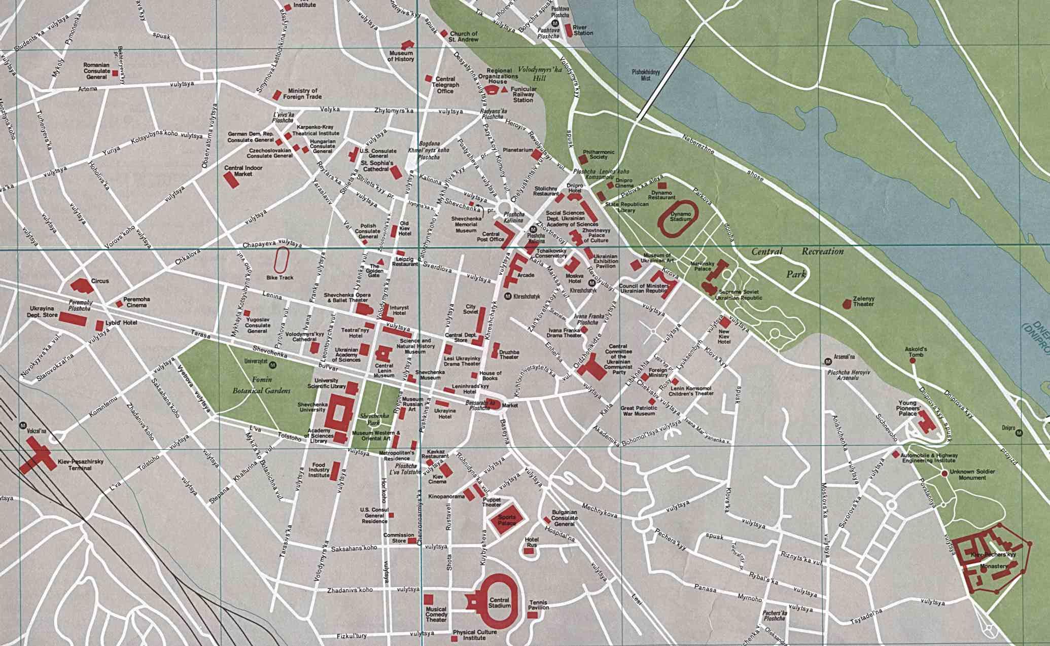 Kijev karta