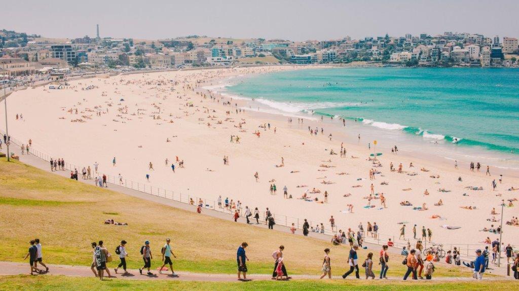 plaža u Australiji