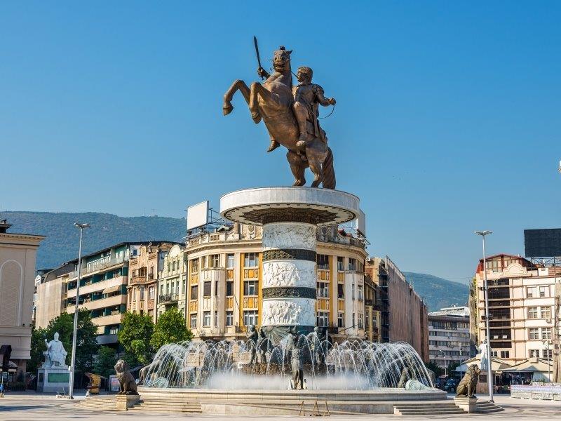 spomenik Aleksandra Makedonskog Skopje