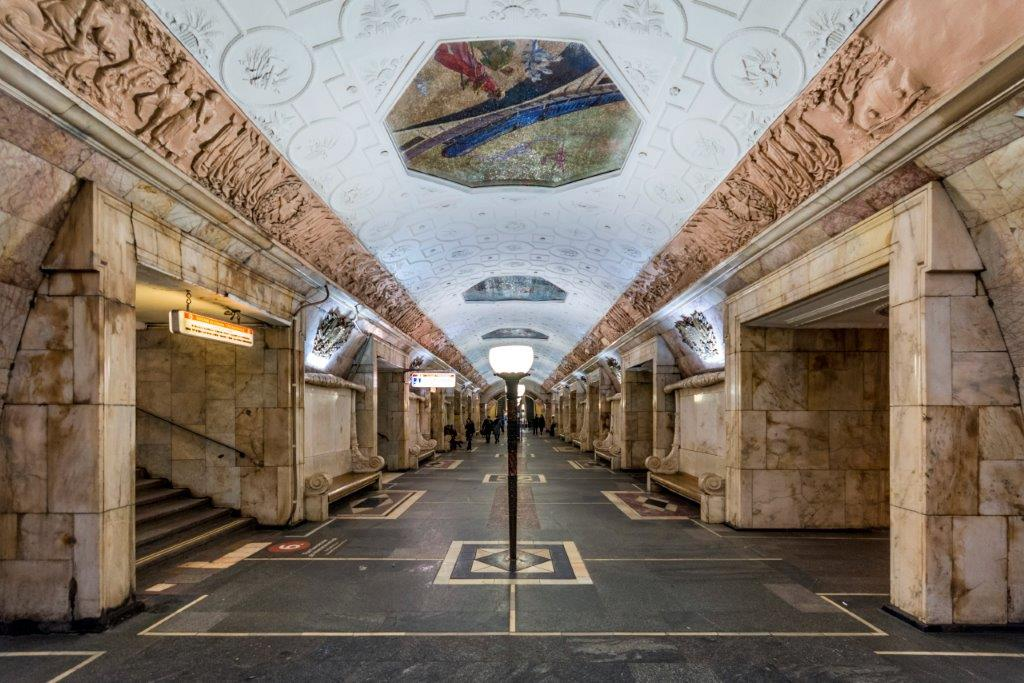 Novokuznetska stanica - moskovski metro