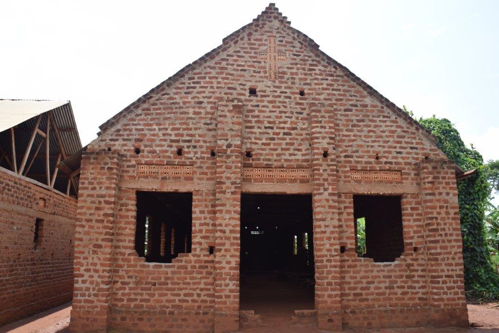Škola u selu u blizini Kampale