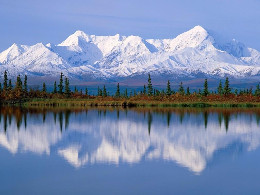 Aljaska pejsaž