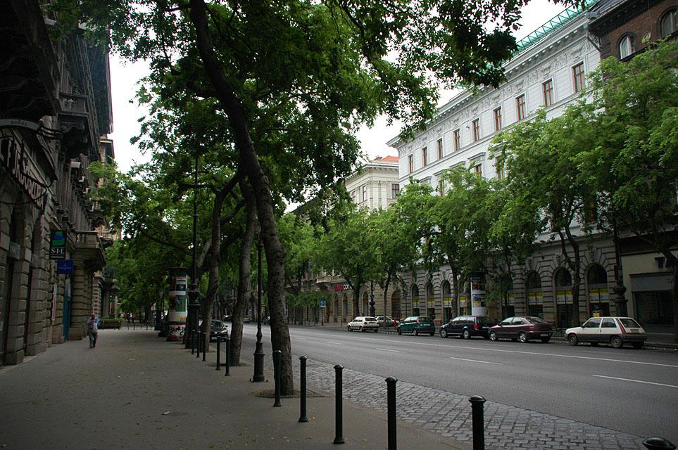 Andraši Avenija Budimpešta