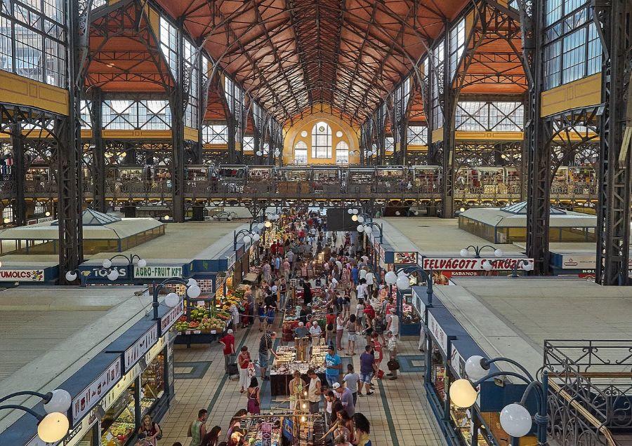 Centralna pijaca u Budimpešti