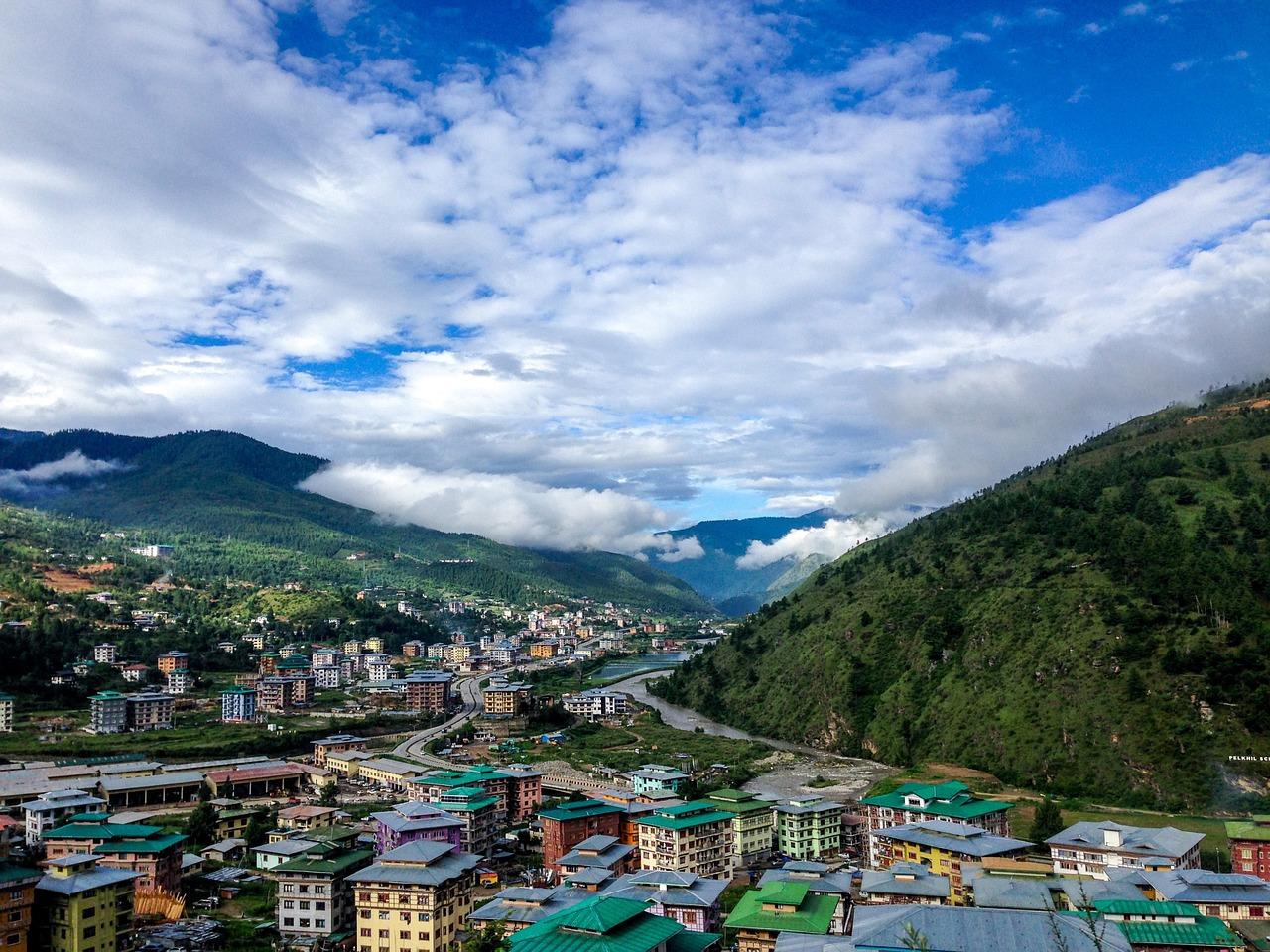 Timfu, glavni grad Butana