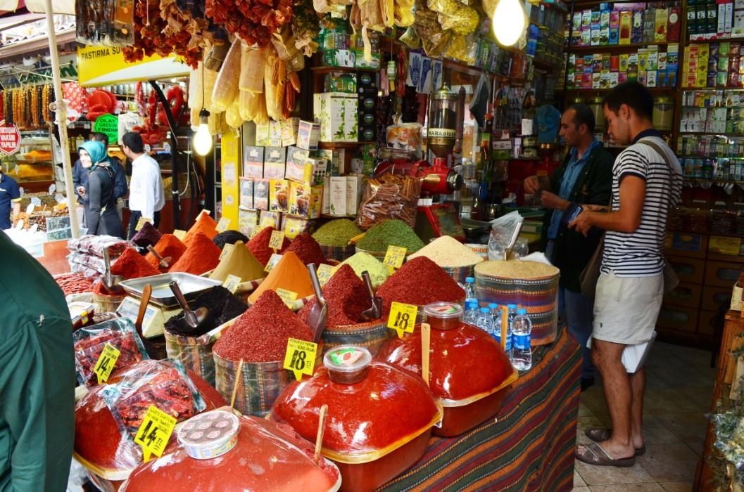 Egipatski bazar u Istanbulu