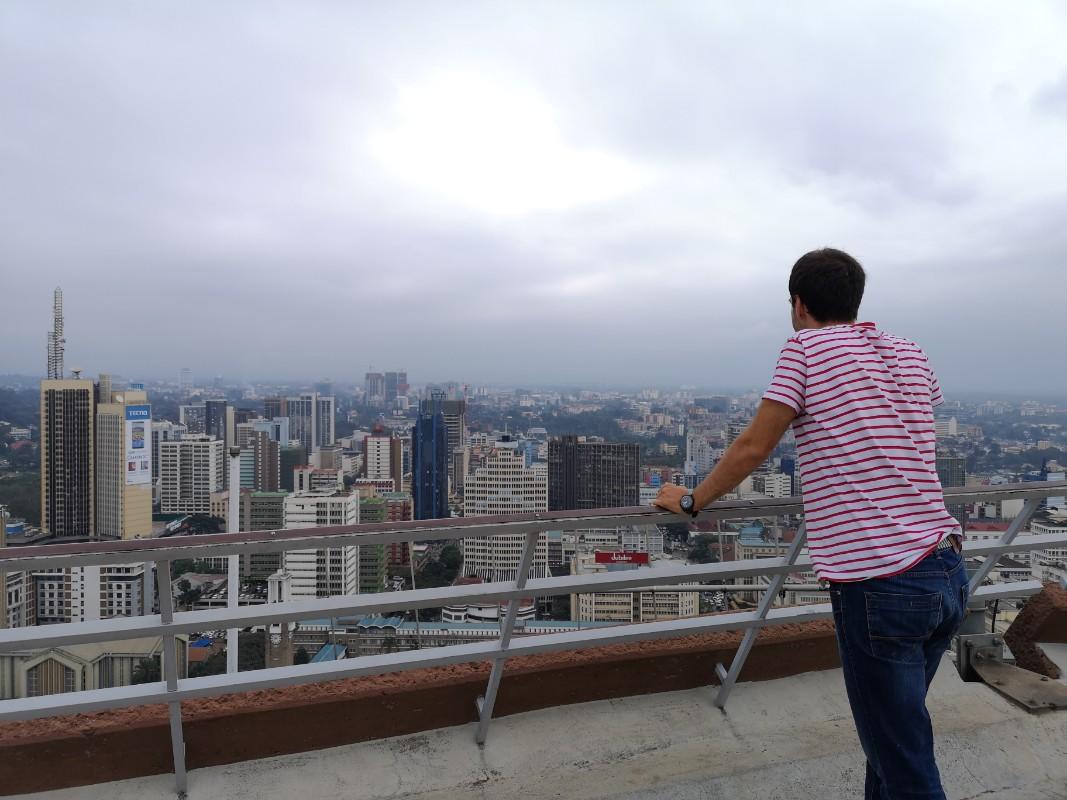 Pogled na Najrobi