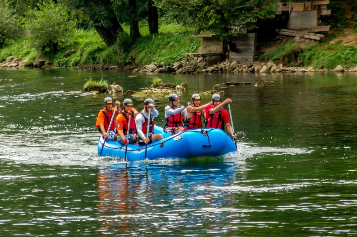 Rafting na Vrbasu