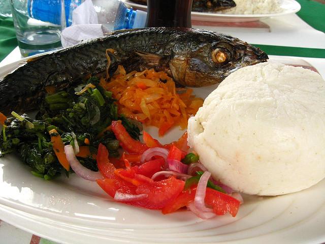 ugali Kenijska hrana