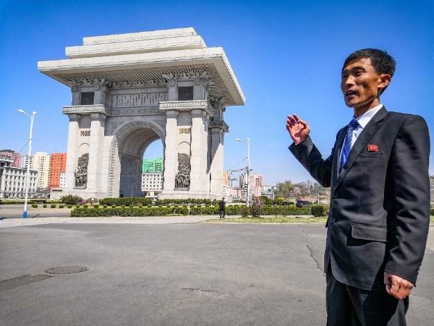 Arch of Triumph u Sjevernoj Koreji