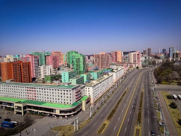ulični život u Pjonjangu
