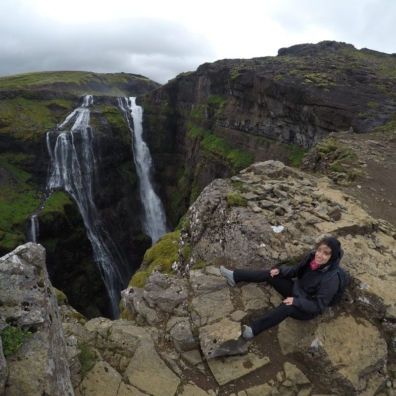 Glymur, drugi najveći vodopad na Islandu (198 m)