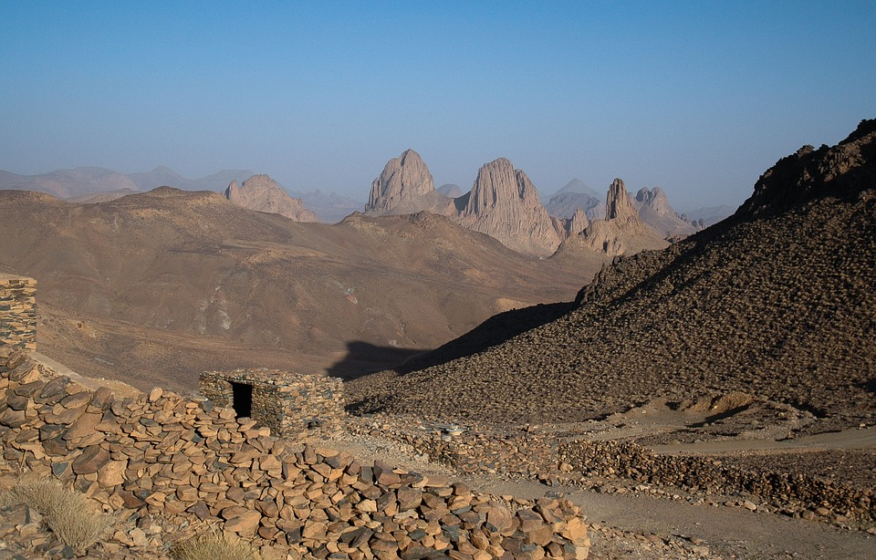 Alžir pustinja