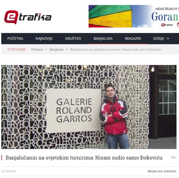 Mediji o meni - SVE NA JEDNOM MJESTU (FOTO - VIDEO) - RIO