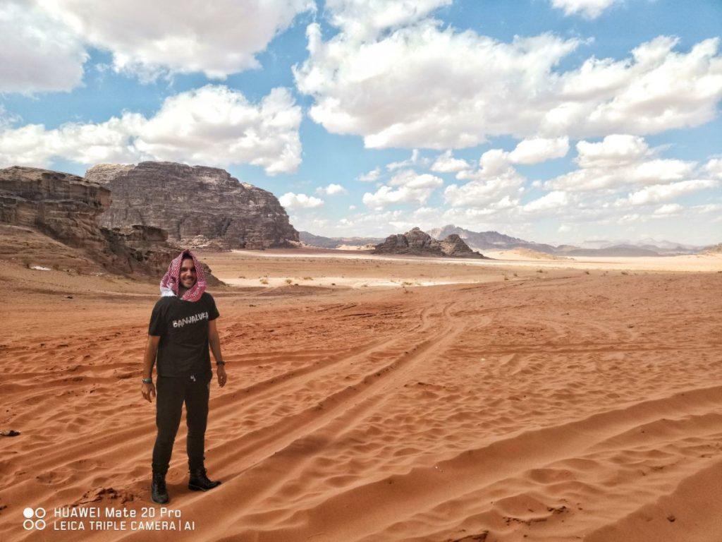 pustinja u Jordanu