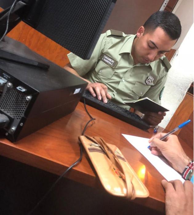 Policijska stanica Južna Amerika Čile