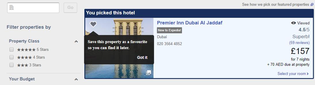 smještaj u Dubajiu