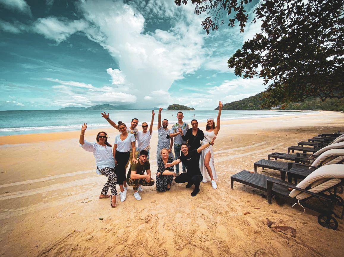 Langkavi ostrvo u Maleziji