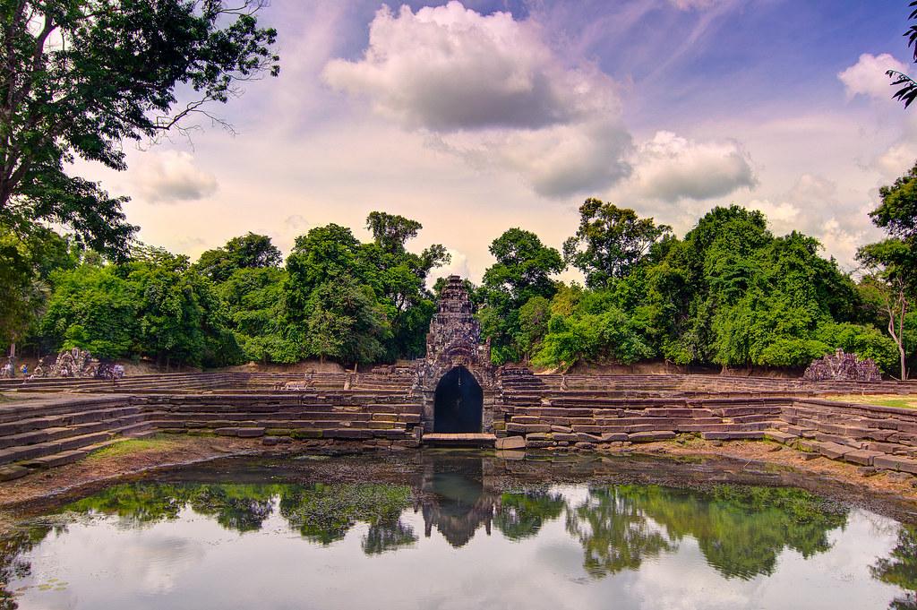 Neak Pean hram